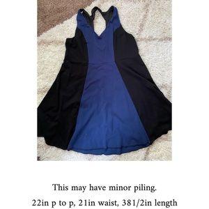 Plus size torrid color block dress
